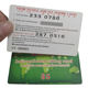Customized international calling phone pvc paper scratch off cards printing maker