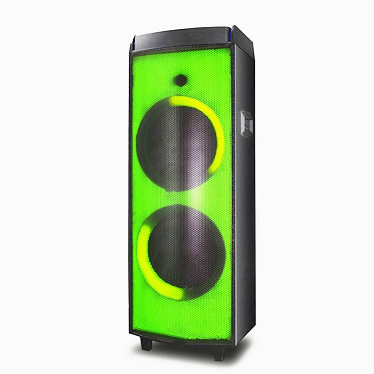 LINGE 12 inchx2 1000W j bl party box 1000 dj bass speaker speaker system led blue tooth speaker with LED light show