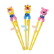 China Custom Disposable Cartoon Corn Starch Baby Training Chopsticks With Box