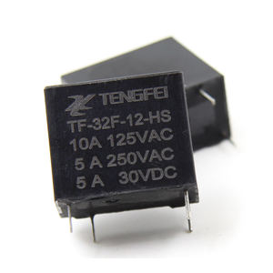 TF 32F 12V รีเลย์ 4 pins 5A Power 0.45 W Relay