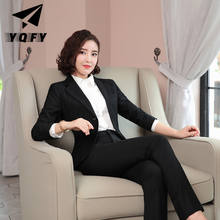Wholesales business women suit ladies formal suit
