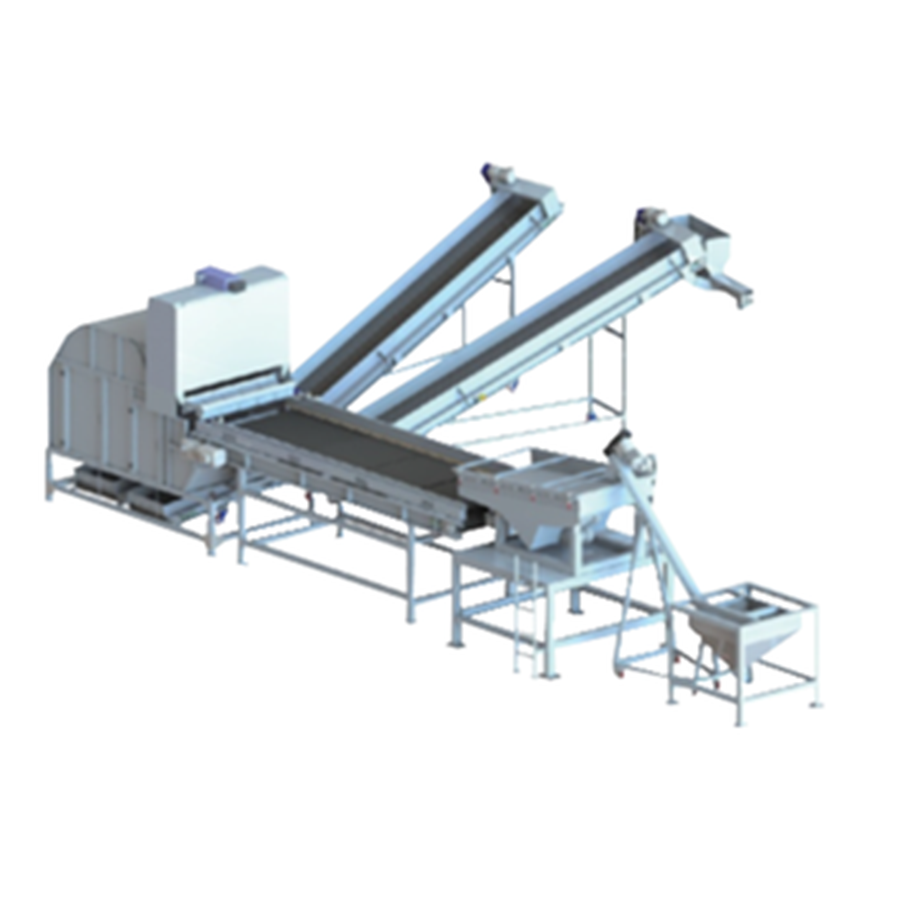 the waste paper near infrared plastics equipments gold separator recycling mineral optical sorter laser sorting machine