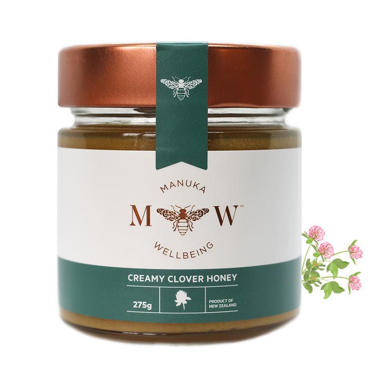 Hot Selling Premium Halal New Zealand Manuka Creamy Clover Honey With 275 Grams