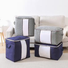 Large Capacity Under bed  Foldable Save Space pillowcase blanket bedding non woven quilt storage bag