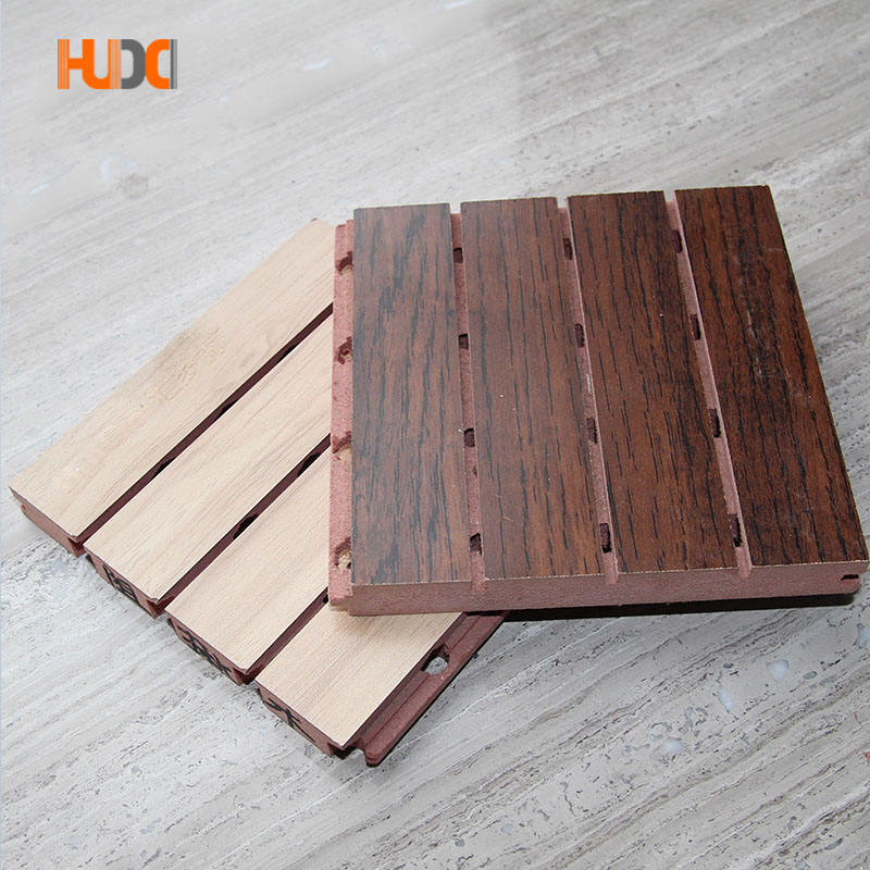 China Factory Acoustic Wood Sound Absorbers Sound Insulation Materials For Home
