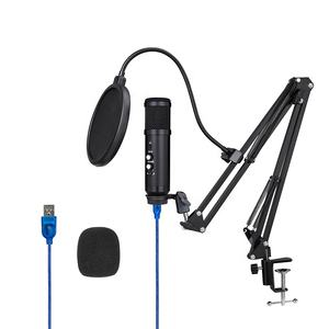 Lane Pro Video Youtube Streaming Vocal Conferentie Gaming Podcast Opname Professionele Usb Karaoke Studio Condensator Microfoon