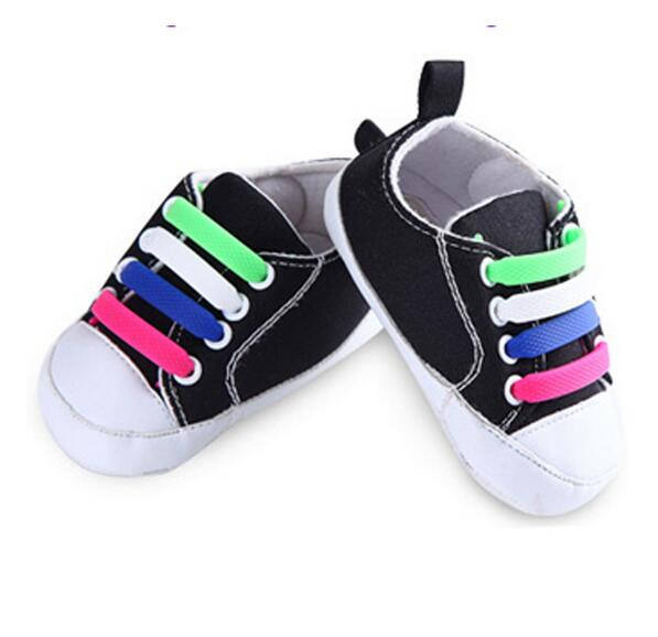 Kids Child Silicone Elastic Shoes Laces Waterproof All Sneakers Fit Strap Shoelaces for First Walkers Baby Shoeslace