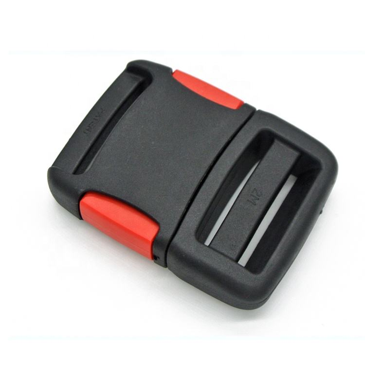 KJM OEM 38mm Adjustable Safety Belt Side Release Plastic Buckle for Life Jacket Vest