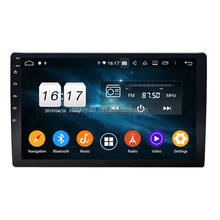 2019 New Smart 2 Din Head Unit 10.1 Inch Android Universal Ultra Slim Car MP5 GPS Navigation Support OEM Casing/Frame