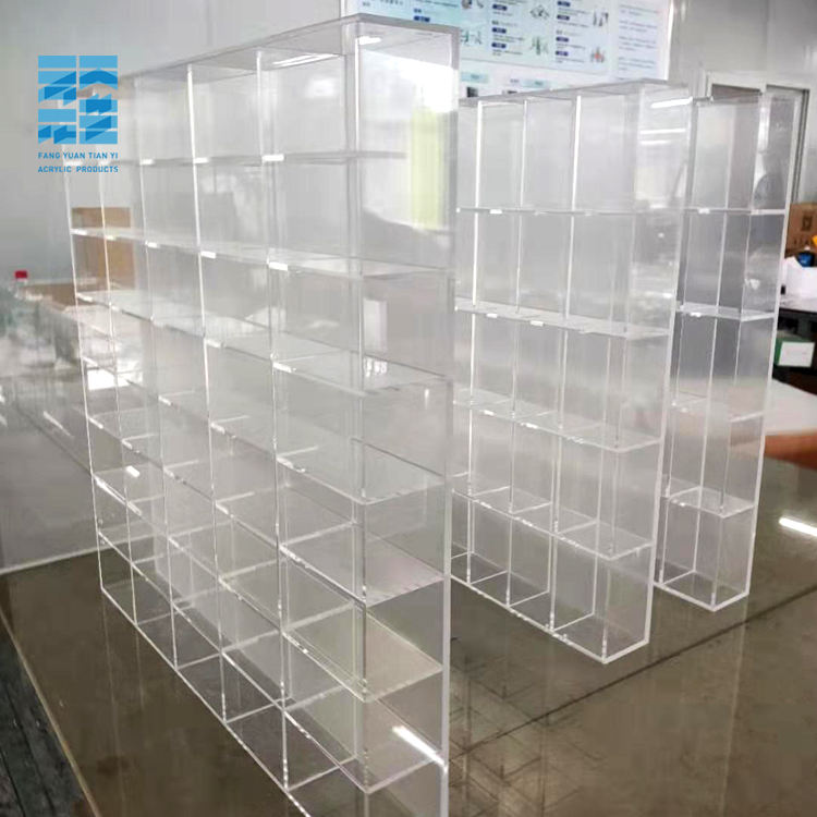 Transparent acrylic Toy display stand Clear Acrylic Display Rack acrylic eyeglass display stand