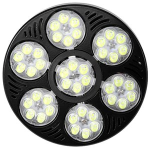 Vakesun led par 38 bombilla foco 3000k 3500k 6000k 8000k 55w 60w par38 led regulable con pista de