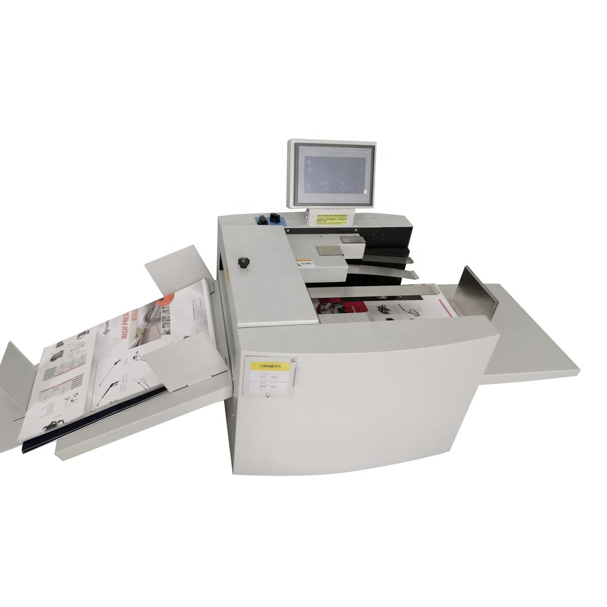 330A full automatic paper digital creasing and perforating machine