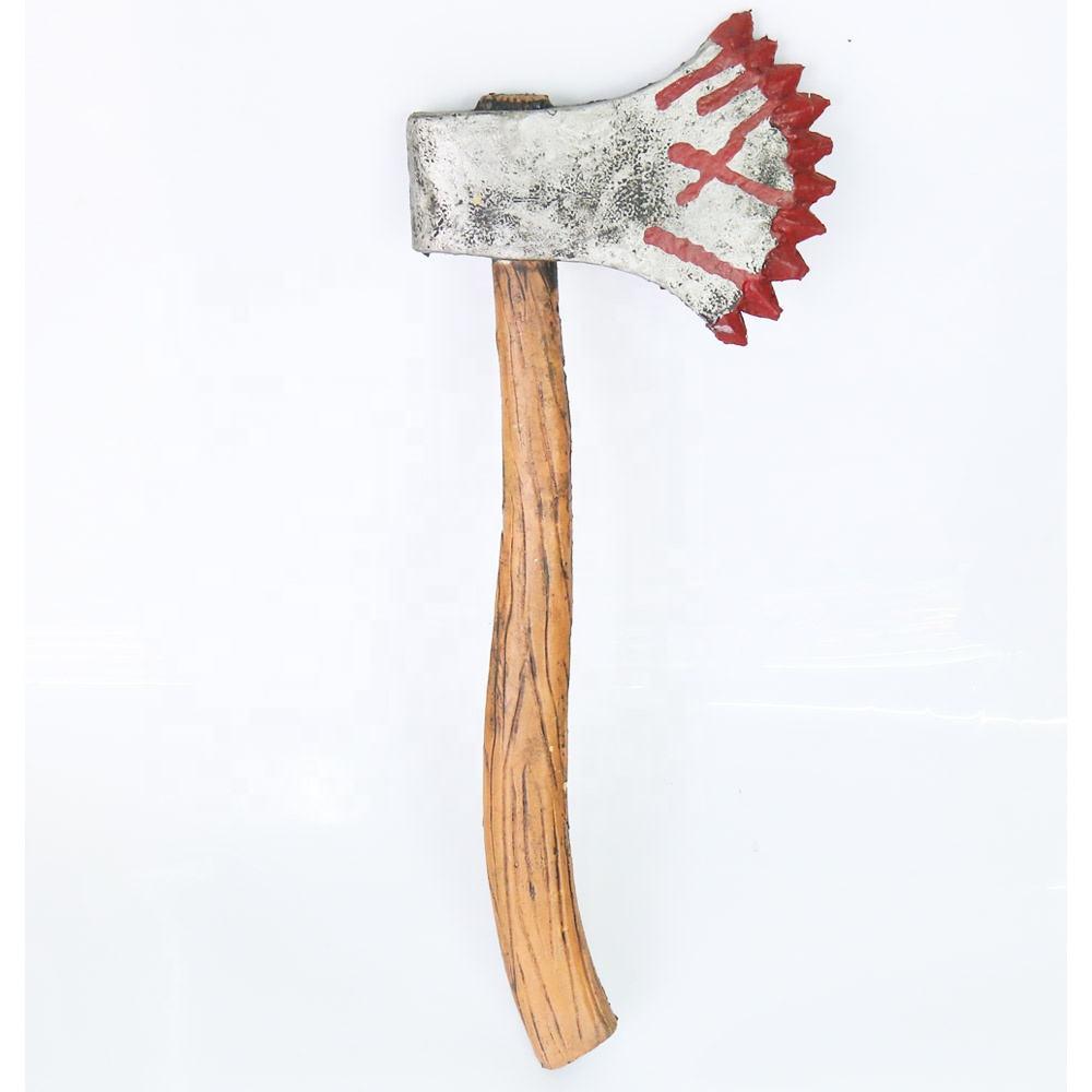 Faixa De Cabeça Halloween Assustador Ax Serra Seringa Tesoura Faca Sangue Falso Maquiagem nos Prop