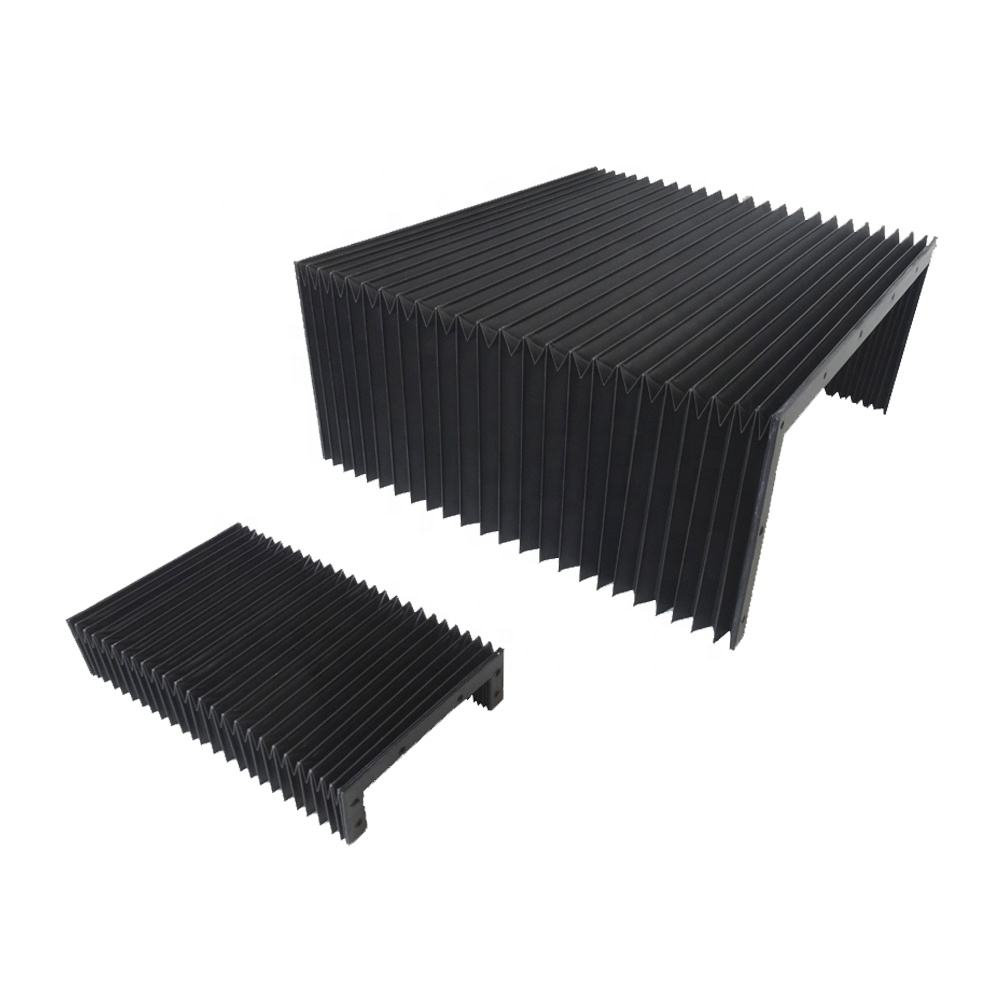 flexible nylon accordion dust cnc machine protective bellows cover