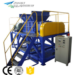 Solid waste shredder machine price