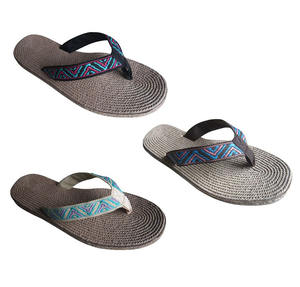 Wholesale fashion recycled custom printed eco friendly flip flops