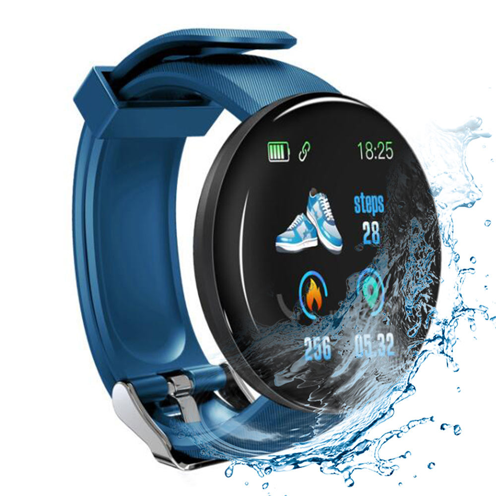 Smart Watch 2020 High Quality Smart Watch 2019 With HD LCD Screen D18 Android Smart Watch For Mobile Phones Smartwatch