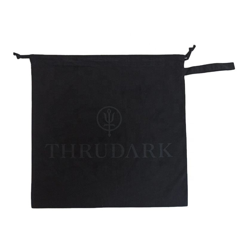 Source manufacturers cheap travel canvas bags custom organic cotton drawstring bag