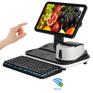 pos computer/ cash register with 80mm pos printer cash drawer for retail/restaurant pos system