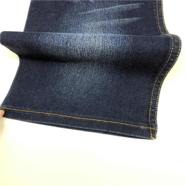 Factory manufacturer 10oz lycra stretch denim fabric for lady//