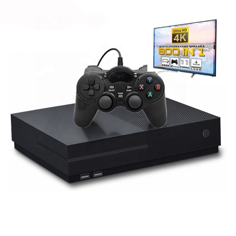 2020 Penjualan Pabrik 64 Bit X PRO 4K HD Video Game Konsol dengan 800 Built-In Games Dua gratis <span class=keywords><strong>Controller</strong></span> Permainan Video Player