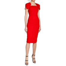sexy bodycon office pencil dress for ladies