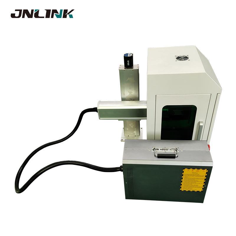 20w 30w 50w portable fiber laser marking machine for metal barcode parts jewelry plastic steel copper