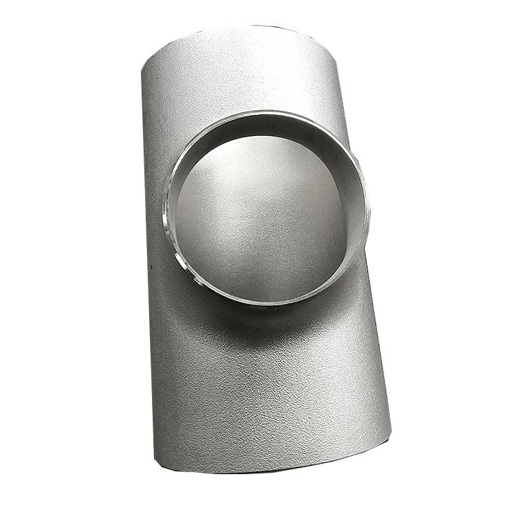 Stainless steel DVGW v-profile press fittings equal 25mm tee for gas and water system from china
