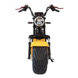 Factory wholesale price Motor 2 Seats 60v 20AH Double Lithium Battery 10 Inch Big Wide Tire City Coco Electric Scooter