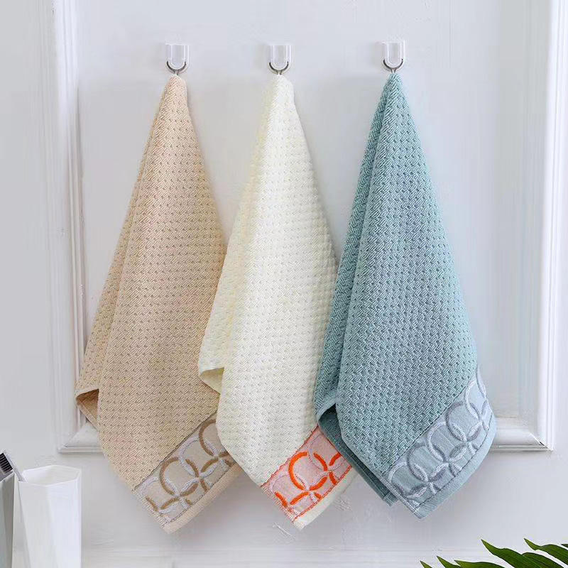 100% cotton face towel presents premium products, family bathroom comfortable soft face towel