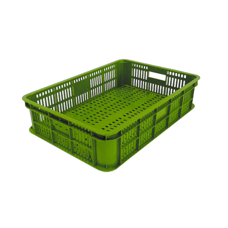 Stackable harvesting plastic crates packaging fruit and vegetable crates