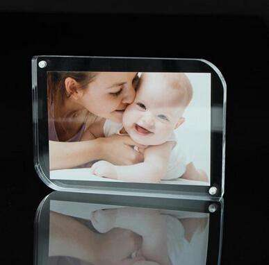 4x6 inches Acrylic Photo Frame/Clear Plastic Picture Frame for Photos