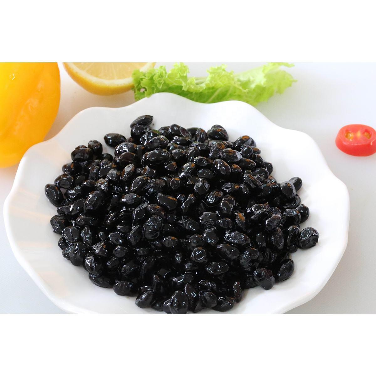 Дешевые, но хорошего качества Черные Бобы Закуски (приготовленные) 350 г