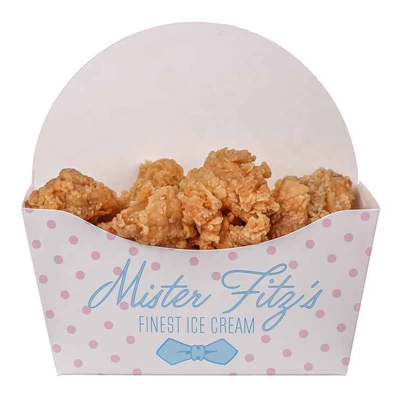 Excellent Quality Take Away Foldable Chips Box