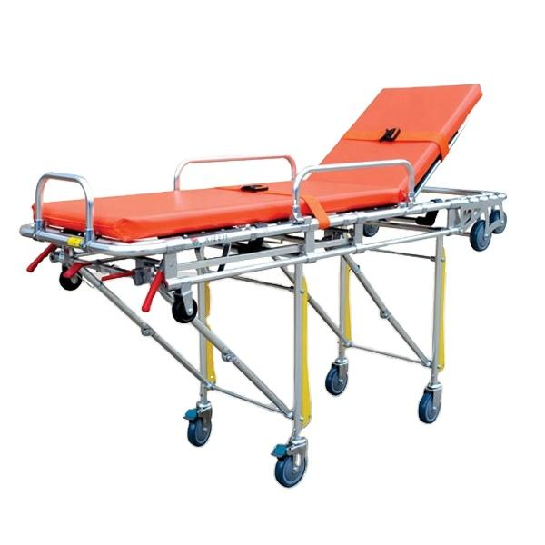 High-low Emergency Foldable Aluminum Ambulance Stretcher