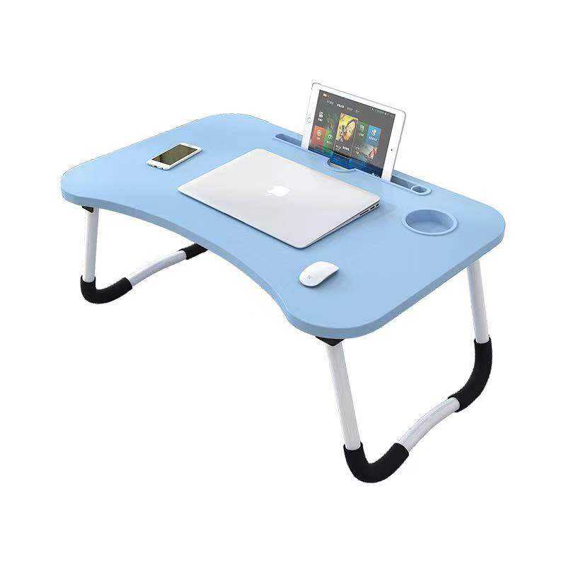 Small Computer Desk Folding Laptop Desk on bed