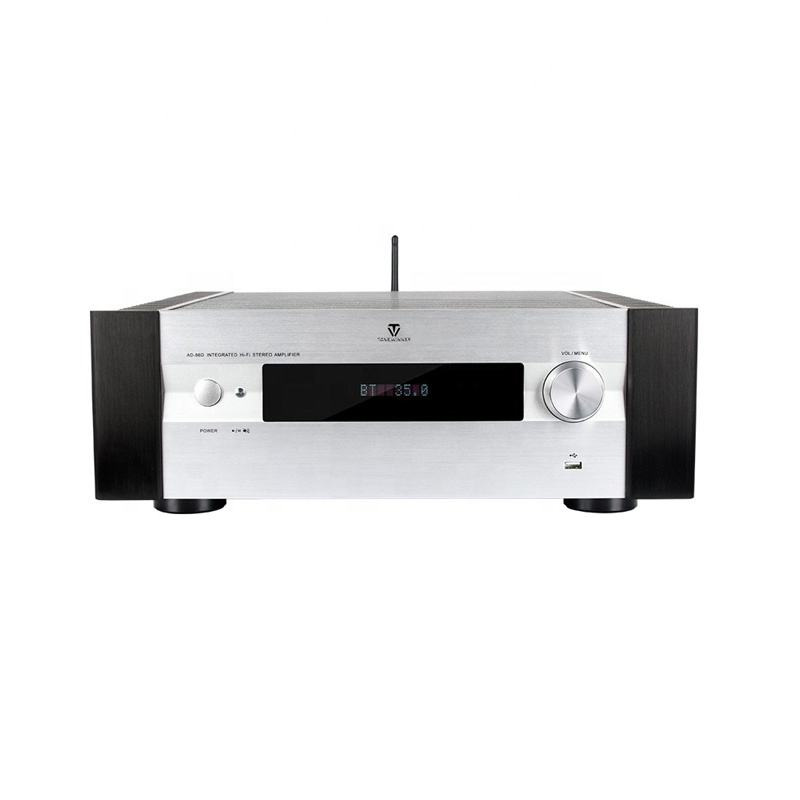 Class A 2.1 Hi Fi Integrated PA Amplifier Karaoke with HDMI ARC