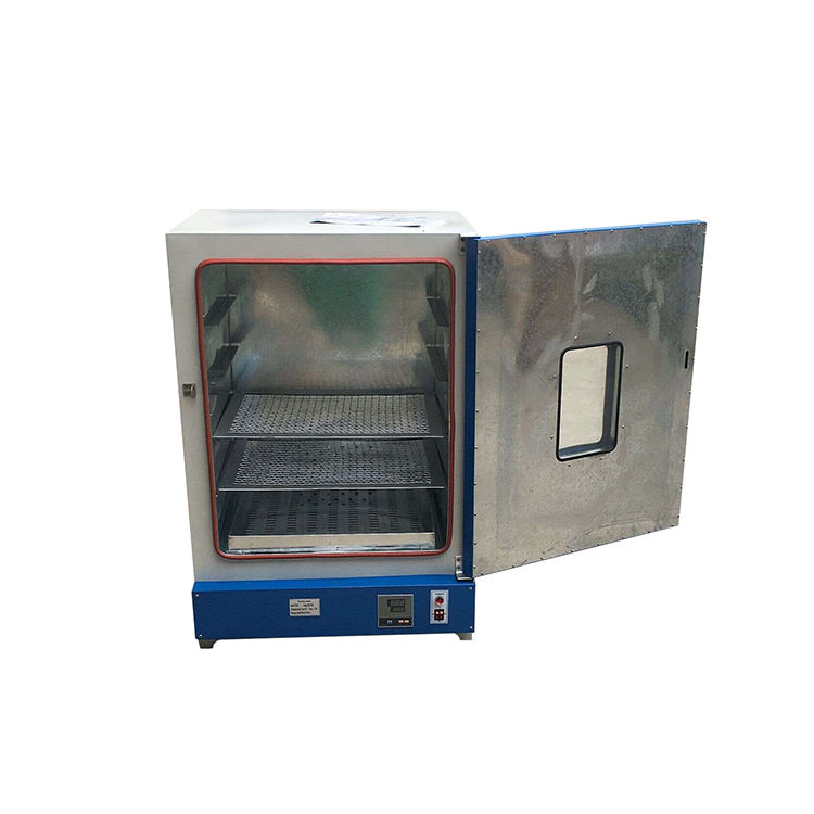 Vertical type portable electrode laboratory drying oven machine manufacturer