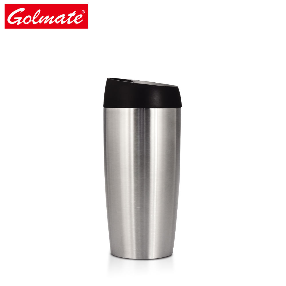 Temperature resistant leak proof double wall portable customized service sport stainless steel coffee travel mug