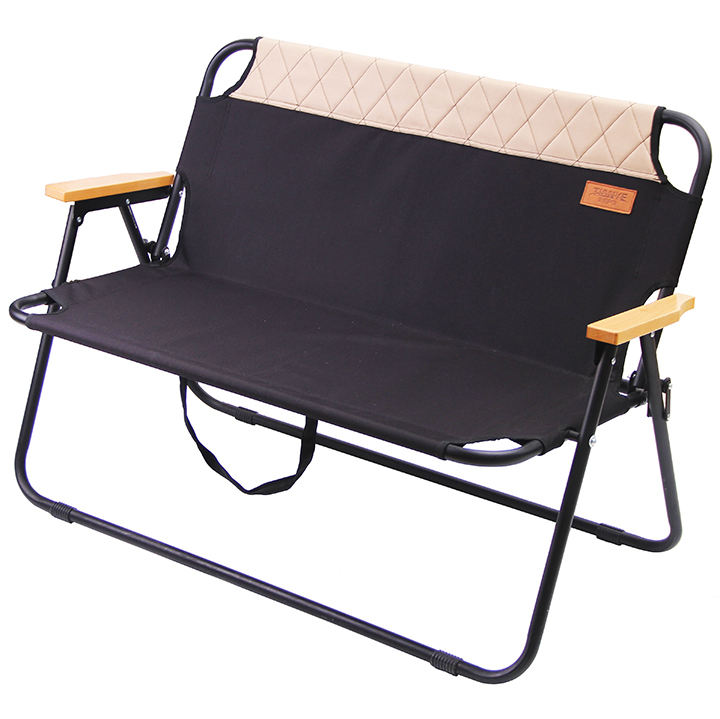 TYA high quality korea portable outdoor folding 600d double seat camping chair