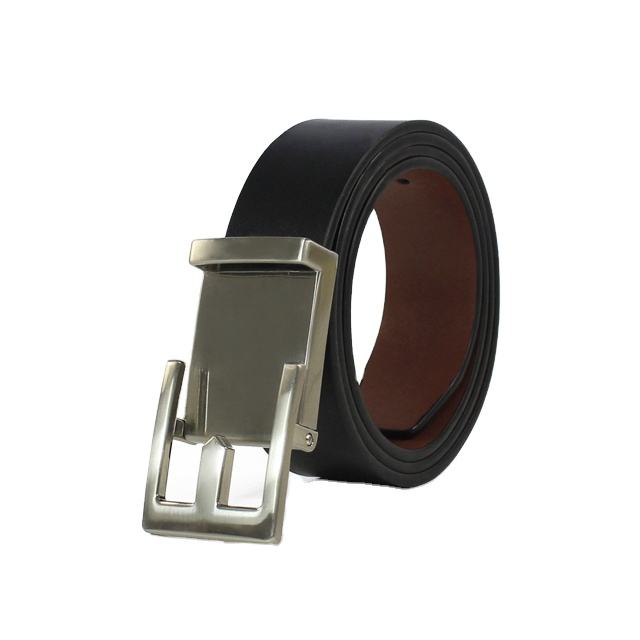 2020 New Design Automatic Buckle Belt 100% Genuine Leather Belt with Hidden Spring to Solve Tight Problem for Men