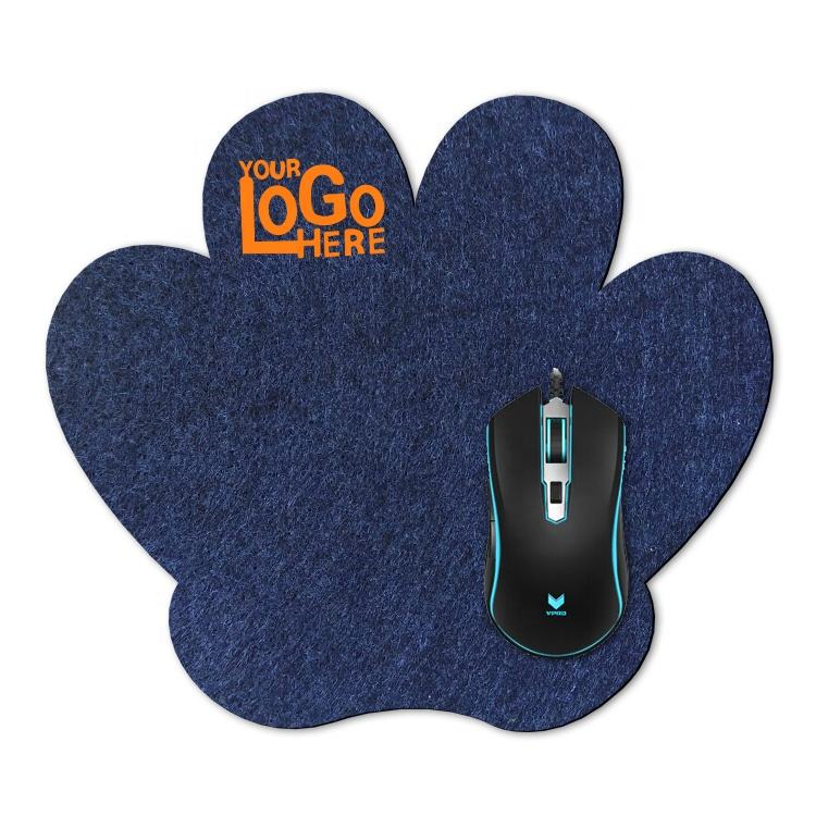 Earthing mouse pad sublimation taobao mouse pad black