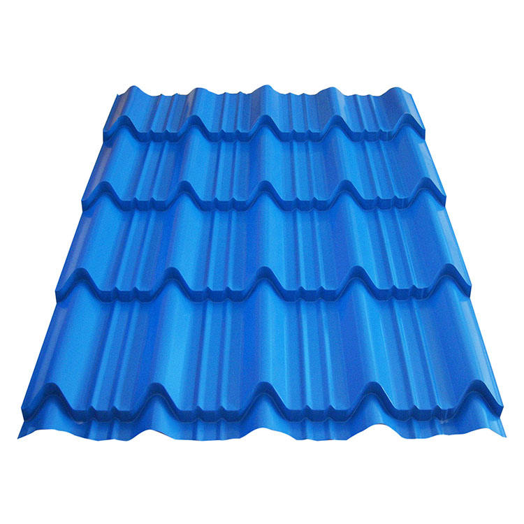 Steel plate ppgi prepainted corrugated coated corrugated roofing sheet