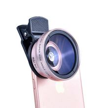 3 in 1 Wide Angle Mobile Phone Camera Lens