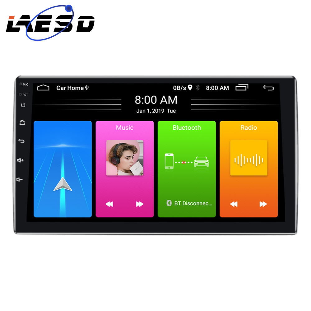 Factory supply XT750 7 Inch touch screen car video bluetooth FM GPS 2 din android car stereo