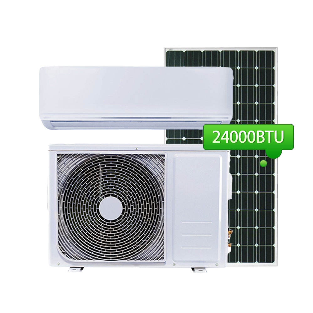 Ac Dc Solar Energy Air Conditioner Inverter 24000Btu Solar Air Conditioner Hybrid 12000Btu 18000Btu