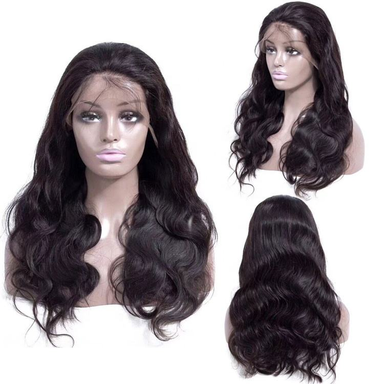 Heat Resistant Hairpiece Natural Wavy Lacefront Clip In Hair Extension wig