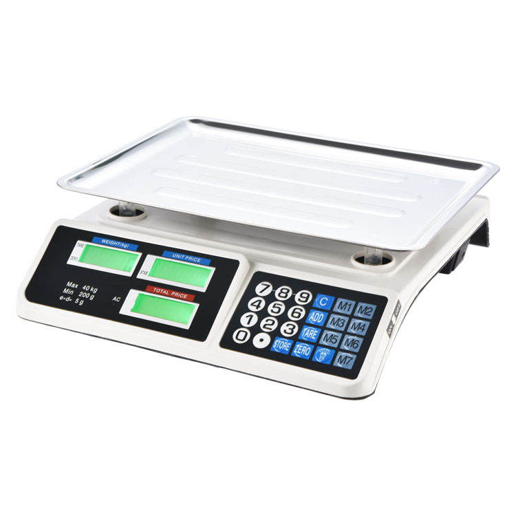 30kg 40kg Electronic Supermarket Computing Price and Weight Machines With Accurate Precision