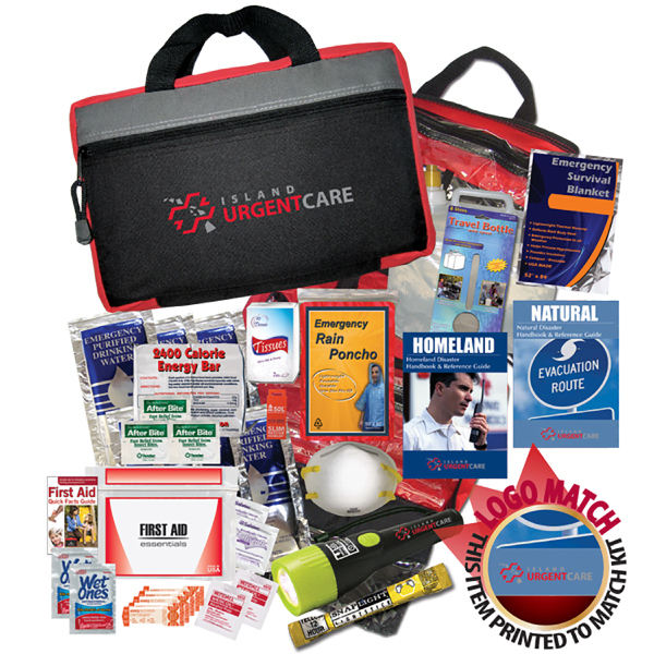 Promotional Disaster Kit 1 Person 2 Day Emergency Kit First Aid Kit