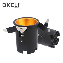 OKELI High power efficient indoor aluminum 5watt 10watt 15watt cob LED downlight